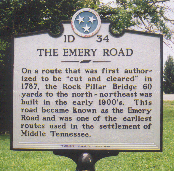 "The image ""http://www.smithdray1.net/history/images/Emery%20Road%20Marker%20lr.jpg"" cannot be displayed, because it contains errors."